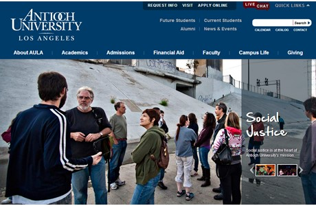 Antioch University Los Angeles Website
