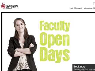 De Montfort University Website