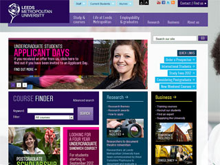 Leeds Beckett University Website
