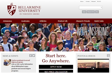 Bellarmine University Website