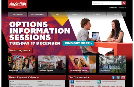 Griffith University Website