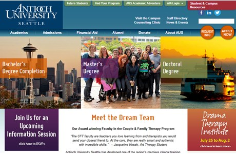 Antioch University Seattle Website