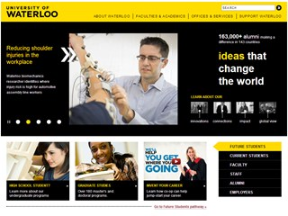University of Waterloo Website