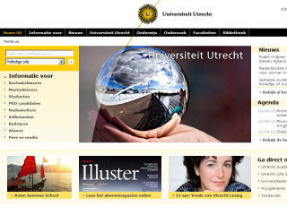 Utrecht University Website
