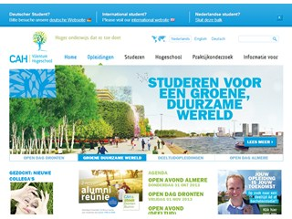 Dronten Professional Agricultural University Website