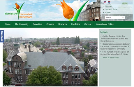 Islamic University of Rotterdam Website