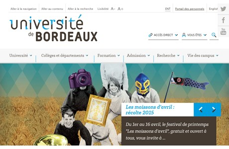 University of Bordeaux I Website