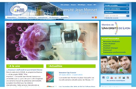 Jean Monnet University Website