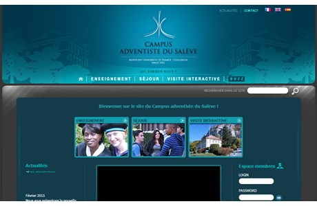 Adventist University of France Website