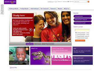 The University of Manchester Website